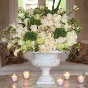 Wedding White Centerpeice