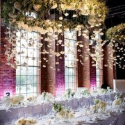 aisle flowers decoration
