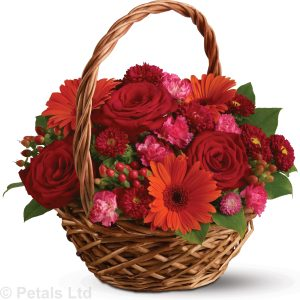 basket of flower memories