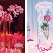 Out of the world centerpieces