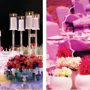 Breathless floral centerpieces