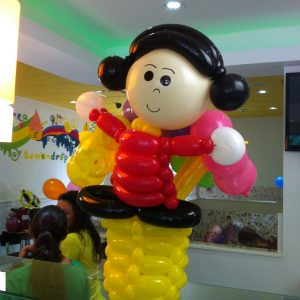 Birthday Bash Balloon Decor