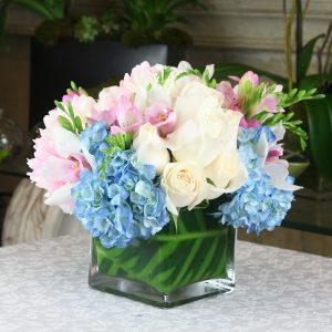 Three color bouquet
