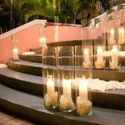 walk in the light wedding Arrangement