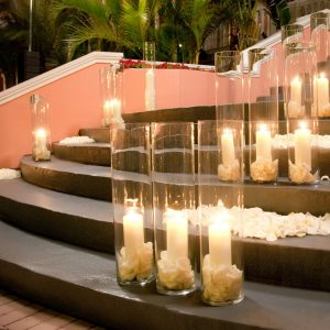 walk in the light wedding Arrangement