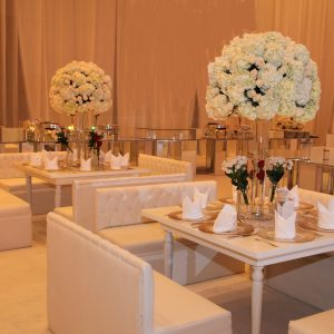 White Rose Wedding Decoration
