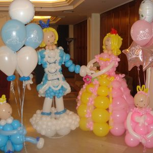 You & Me Balloon Centerpiece