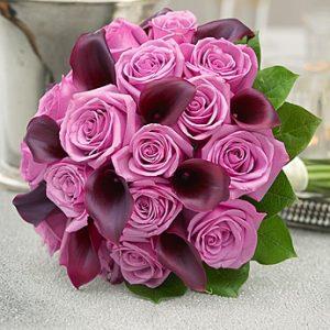 Color-brust Bridal Bouquet