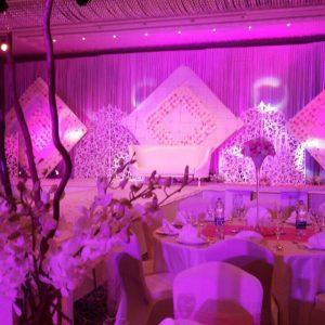 Amazing Night Wedding Decor