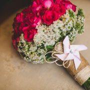 Cheery Blossom Bridal Bouquet