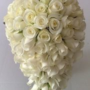Wintry White Bridal Bouquet