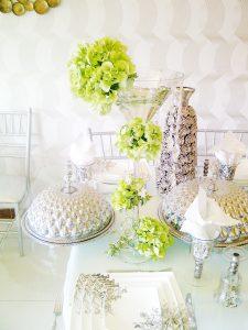 pure white arrangement