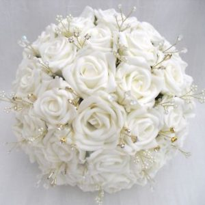 Snow Wedding Bouquet