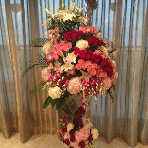 Royal Floral Centerpiece