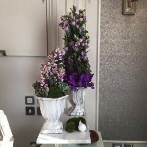 Aisle Flower Decoration Pieces