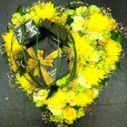 Flower Heart Shaped Arrangement