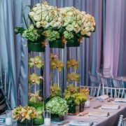 Long & Hanging Centerpieces