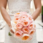 Juliet roses bridal bouquet