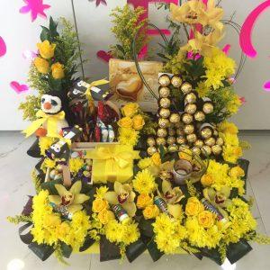 Yellow Desire Flower Gift