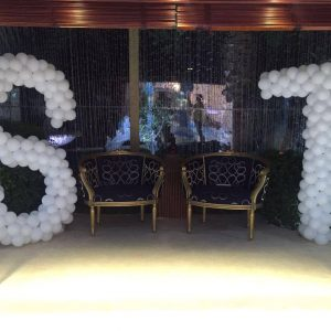 Balloon Name Decor