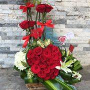Saintly Rose Arrangement