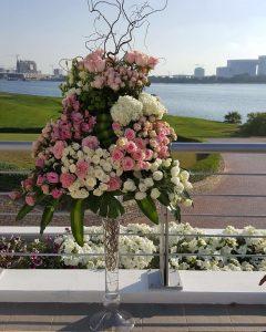 Centerpiece - Wedding in dubai
