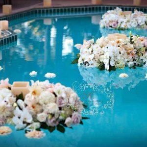 Wedding Flower-Water Decor