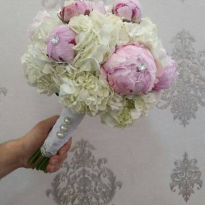 Pinky White Bridal Bouquet