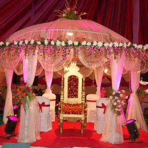Rosy Red Wedding Kosha