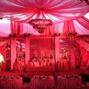 Red Beauty Wedding Kosha