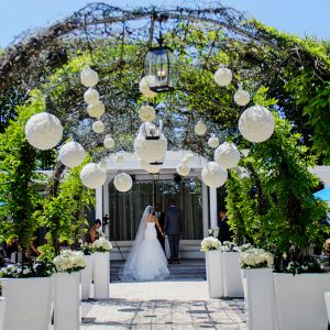 Blossom Outdoor Wedding Arrangement