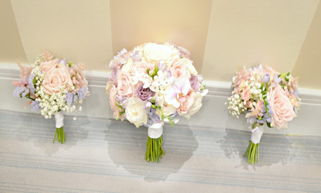 Winsome Pink Bridal Bouquet