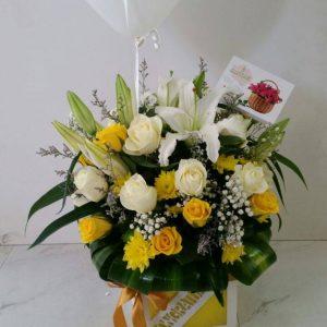 Radiant Flower Arrangement Gift