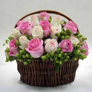 Graceful Flower Basket